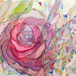 Paintings by Michelle Taylor | Royal Rose