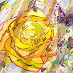 Paintings by Michelle Taylor | Peace Rose