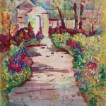 Paintings by Michelle Taylor | Hacienda Gardens Red