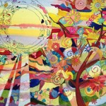 Paintings by Michelle Taylor | Sun Tree